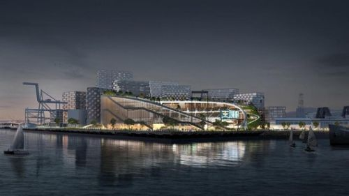 BIG, Gensler, and Field Operations Revise Plans for Oakland Athletics Stadium