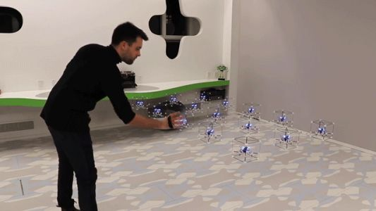 GridDrones: These Self-Levitating Nanocopters Might Be the Future of Smartphones