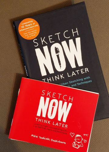 Book review: Mike Daikubara's Sketch Now, Think Later