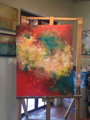 The Many Lives of An Encaustic Painting