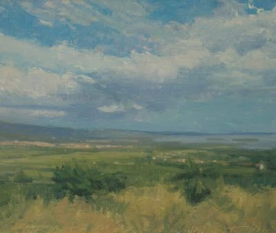 An American Painter in Umbria: Twenty-five Years of Landscapes