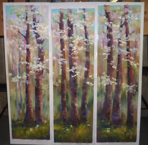 My Largest Pastel Paintings EVER! Tips for Painting LARGE