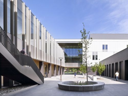 Chico State Arts & Humanities Building / WRNS Studio