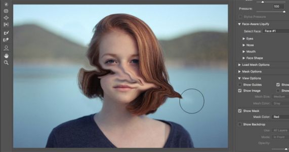 How To Fix A Glitchy Liquify Brush in Photoshop On Windows