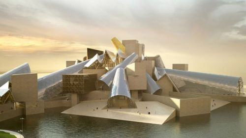Gehry's Guggenheim Abu Dhabi Set to Begin Construction