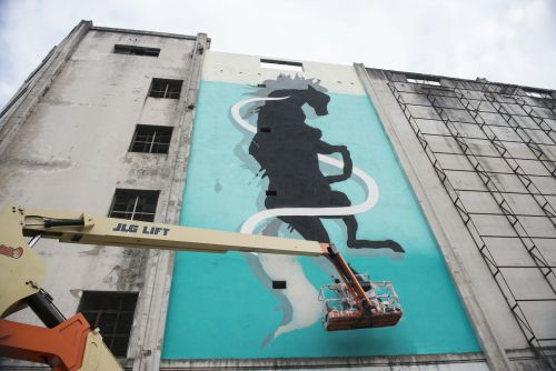 """""""Caballo Chúcaro"""" by Sabek in Buenos Aires, Argentina"""