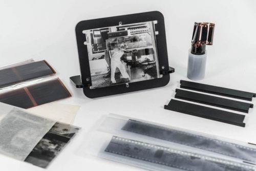 Pixl-latr is a Simple Holder and Diffuser for Digitizing Film