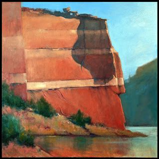 Demonstration: Big Cliff Painting