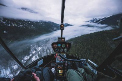 Tips for Shooting Aerial Photos from a Helicopter