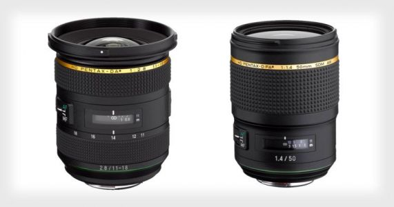Ricoh Announces 11-18mm f/2.8 and 50mm f/1.4 Pentax Star-series Lenses