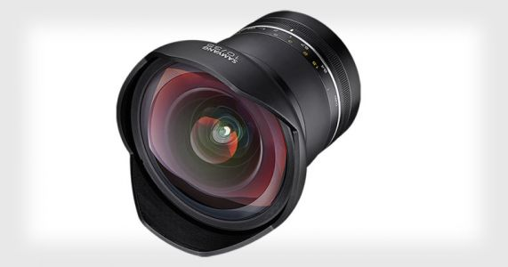 Samyang XP 10mm f/3.5 is the World's Widest Rectilinear Prime Lens