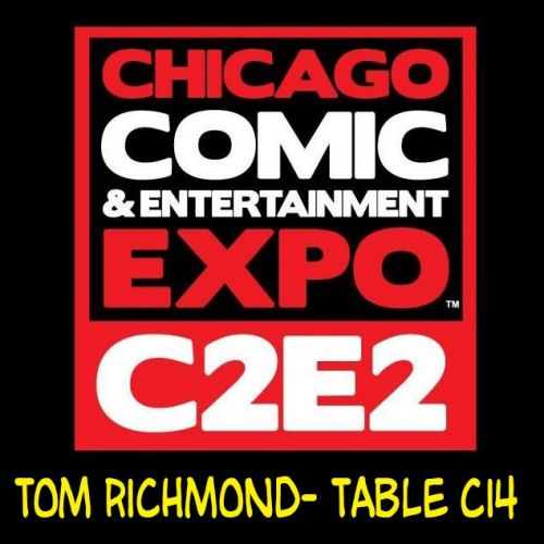 See Me at C2E2 This Weekend!
