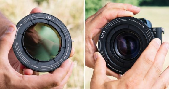 The REVORING is a Variable Step-Up Ring that Works with All Your Lenses