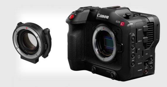 Canon Unveils EOS C70 RF Mount Cine Camera and EF-to-RF Speedbooster