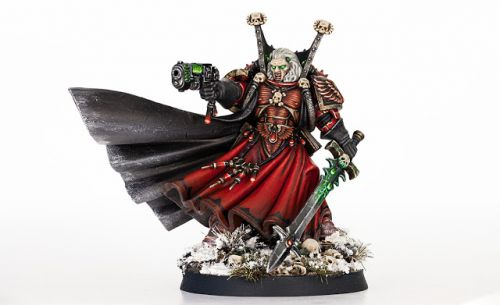 Showcase: Blood Angels Chief Libarian Mephiston by Forest