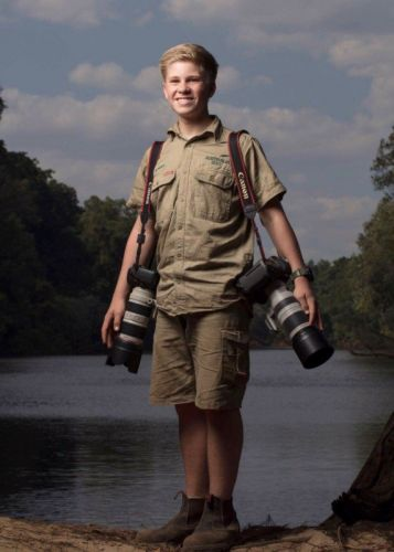 Steve Irwin's 13-Year-Old Son is Quite a Photographer