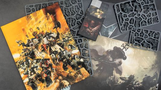 First Look: Black Templars' Codex and Army Set