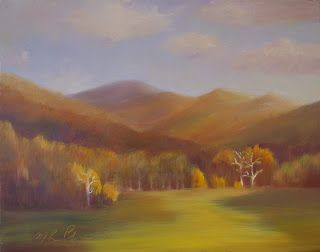 """Three Trees Outside of Black Mountain, NC"""