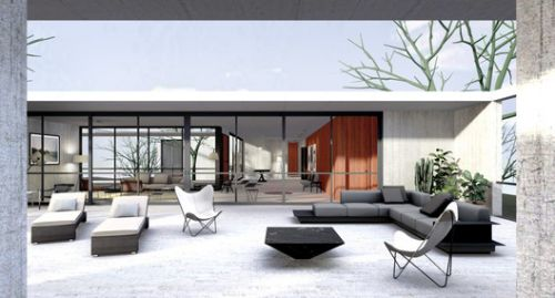 Explore Oscar Niemeyer's Unbuilt House in Israel with This 3D Model