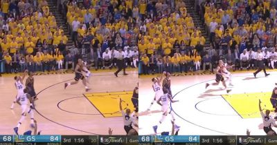 The Bright Flashes During NBA Games You May Never Have Noticed