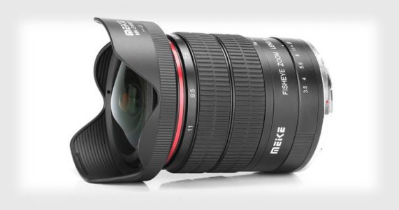 Meike Unveils a 6-11mm f/3.5 Fisheye for Canon and Nikon APS-C