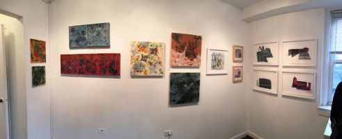 Meet the Artists Yesterday at The Big Small Show
