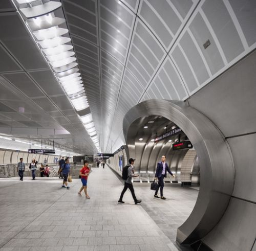 Number 7 Subway Line Extension & 34 Street Hudson Yards Station / Dattner Architects