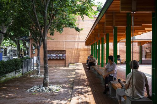 Pocket Plaza / Atelier Archmixing
