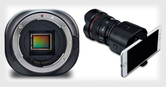 Yongnuo YN43 Turns Your Phone Into a M4/3 Mirrorless Camera