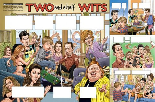 Monday MADness- Two and Half Wits!