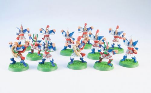 Showcase: Retro Blood Bowl High Elves Team by Rich