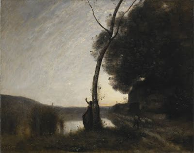 Jean-Baptiste-Camille Corot, The Evening Star