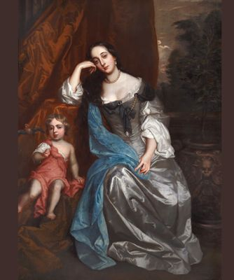 Sir Peter Lely painter of the beauties of the court of Charles II