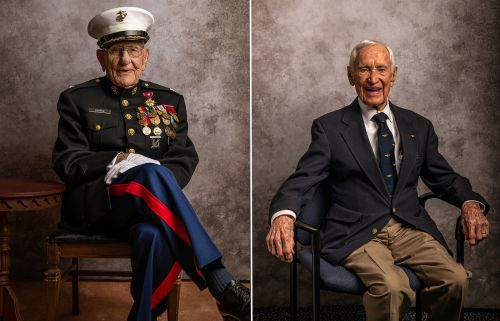 Portraits of Honor: Photographing the Last of the WWII Veterans