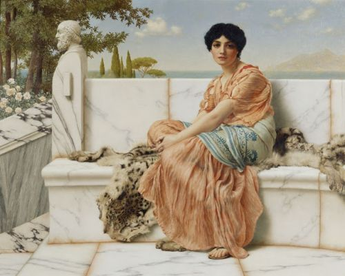 John William Godward. Born on this day in 1861