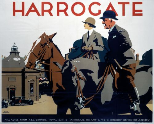 Railway Posters by Frank Newbould