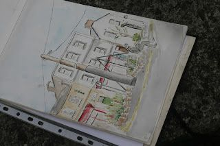 Drawing Galway 010 - The Crane Bar, Sea Road, Galway
