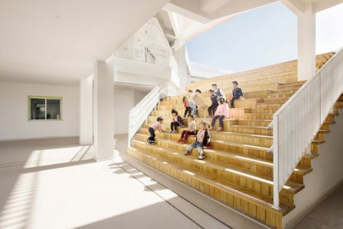 Sanhuan Kindergarten / Perform Design Studio