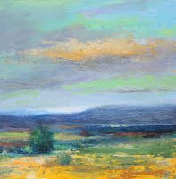 "Contemporary Landscape, ""Enchantment,"" by Amy Whitehouse"