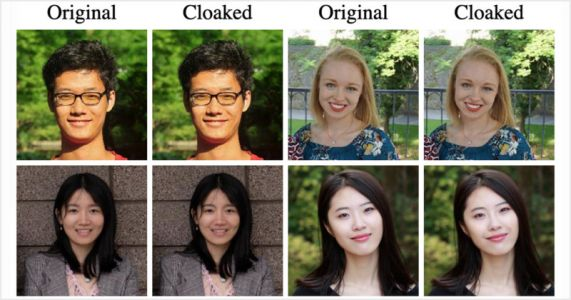 This 'Cloaking' Algorithm Breaks Facial Recognition by Making Tiny Edits