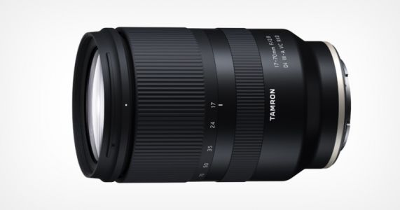 Tamron Unveils 17-70mm f/2.8 VC Lens for Sony APS-C E-Mount
