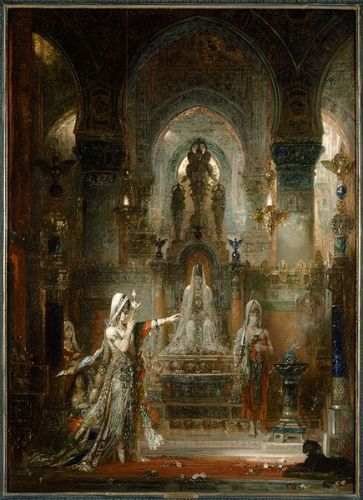 "Up Close: Moreau's ""Salome Dancing before Herod"""