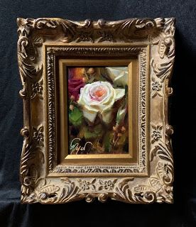 Small Rose by artist Pat Meyer