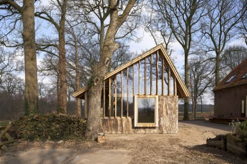 The Sixteen-Oak Barn / HilberinkBosch architects