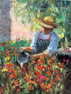 Watering The Glads, Vermeer and a series of changes