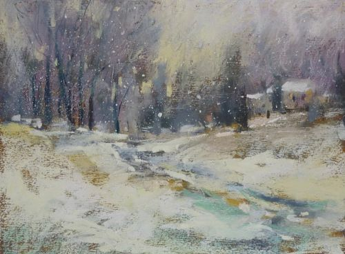 New Video Demo Release on YouTube: Painting a Winter Landscape