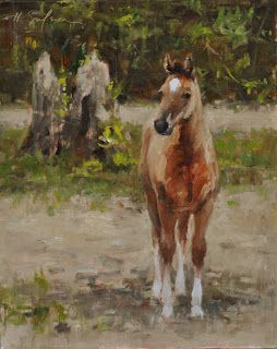 Recent Horse Paintings!