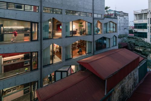 VUUV building / VUUV Architecture and Interior Design