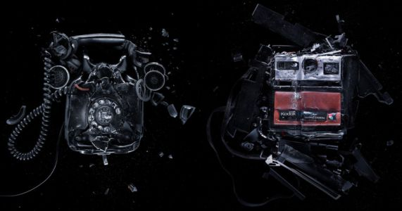 These Studio Portraits of Smashed Electronics are Oddly Satisfying