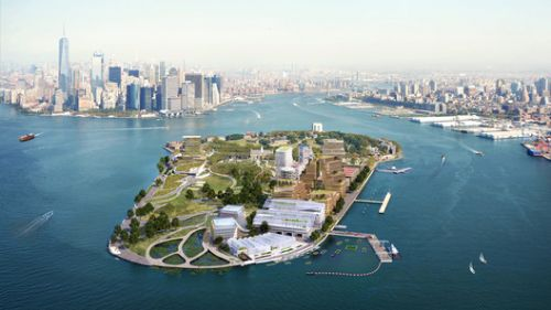 WXY Proposes Climate Solution Center on Governors Island in New York